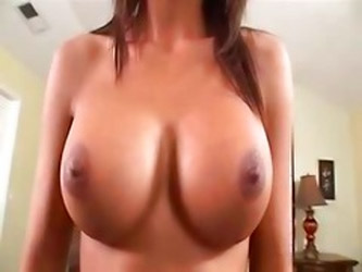 Busty Latin Teen Fucked On Dads...
