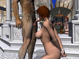 your average medieval 3d orgy