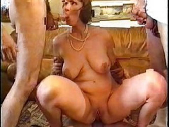 Nice French Milf Group Sex