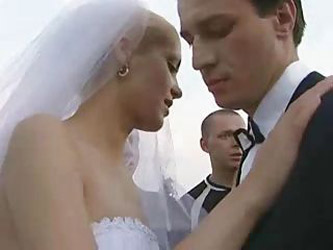 Bride Fucked Outdoors By More Than...