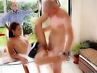Older hubby got cucked