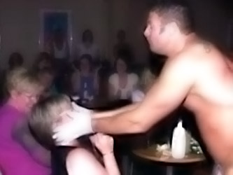 Wild Party Girls Sucking A Male...
