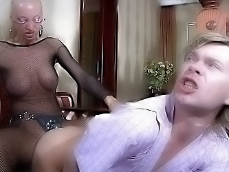 Christiana&Silvester strapon sex video