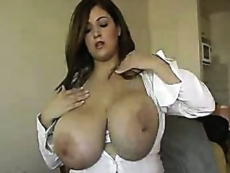 Busty Business Woman