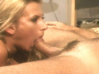 Bossy blonde fucked by her employee