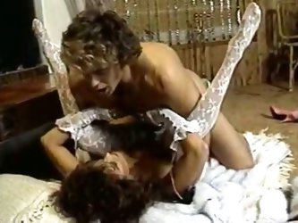 Beautiful retro whore fucked hard