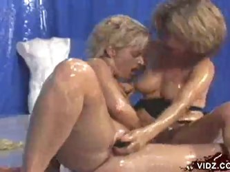 Two sexy bitches wrestle to settle dislikes