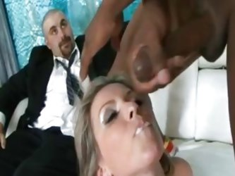 Wife offered to a big black cock client