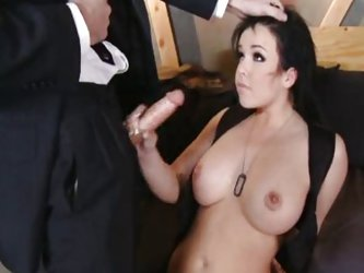 Vaginal Sex;Oral Sex;Anal Sex;Double Penetration;Brunette;Big Tits;Caucasian;Blowjob;Uniform;Police;Cum Shot;Threesome;Big Ass