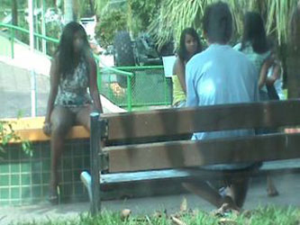 wife seduce in the park part 2