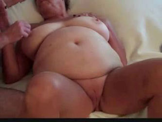 Adorable games with my old fat neighbor slut. Amateur Older
