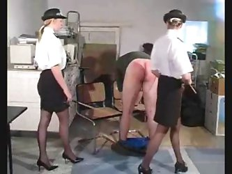 Police women punish