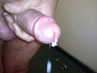 wank and cum shot