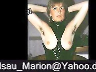 Marion From Hairy Germany With Unshaven Armpits 02 - Tittenheber Sind Geil