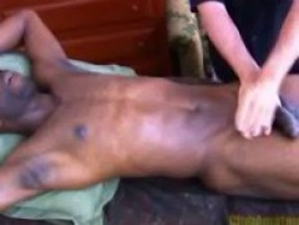 Massaging Royces Prostate - Amateur Sex Video