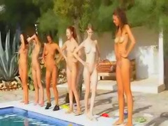 Seven Naked Girls Like An Army