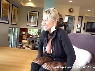 Wifey Has Huge Tits And Mouthful of Cum