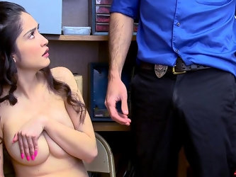 ShopLyfter - Looter Teen Gets Cum Dumped