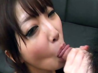 She  looks so adorable with dick between her juicy cherry lips. Be ready for a really exciting sex fun together with charming oriental sucking head. S