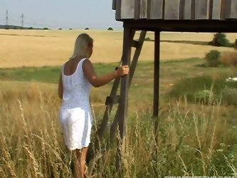 Pack of Porn will show you how horny and voracious country chicks are. Kinky blondie in white dress wanders in the filed. Torrid gal with sweet tits c