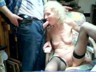 Although she is an old lady, she knows the meaning of hot oral sex. In this private home video she sucks my dick like a super qualified whore.