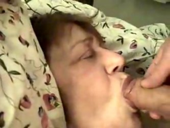 I made my dirty dream come true by fucking my 55 yo mother-in-law's mouth. She wasn't mind to get her flabby face covered with thick layer o
