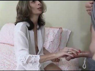 Mommy cure sons dick masturbation bruises