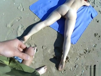 saw a sunbathing stranger and fucked her