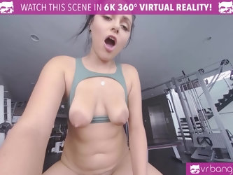 Sexy Hot Latina Teen Get Pounded By A Big Cock during excersise