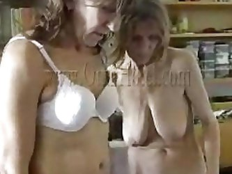 Like watching grannies having fun? If you do then check these two old saggy sluts. Because they wear denture and have some hip problems that doesn
