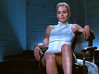 Sharon Stone crossing legs (Loop)