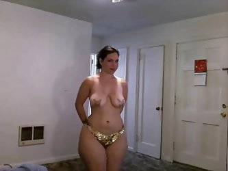 Big Ass Lady Loves Getting Naked And Showing Her Shapes