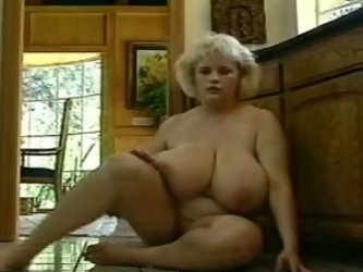 Busty mature ladies are lots of fun! They really appreciate when a guy craves them. My hot BBW blonde milf wife shows off her enormous tits on cam and