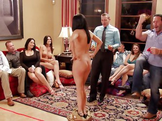 When these kinky couples get together in the mansion, anything can happen. They play funny and sexy games, before heading to the sex room, where there
