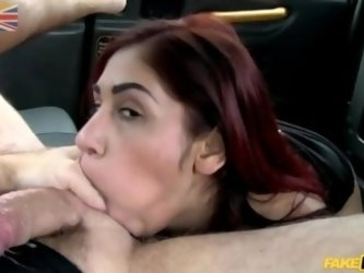 Indian Girl fucked in fake taxi