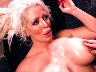 Alura Jenson is the voluptuous goddess of your dreams and she puts on a wild and wonderful show in this hardcore scene with plenty of fucking. The guy