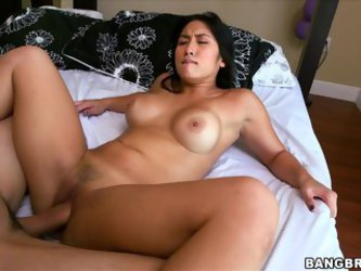 Mia Li The Busty Asian Gets Fucked And Creampied