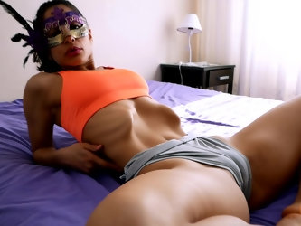 INCREDIBLE Body Skinny Latina has Sexiest Ass n Cameltoe