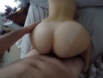 Teen Gf Gets Morning Breeding Session, Pov Doggy