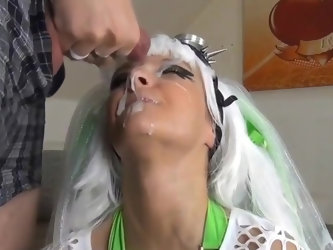German bitch facial cumshot compilation (Nasse Laila)