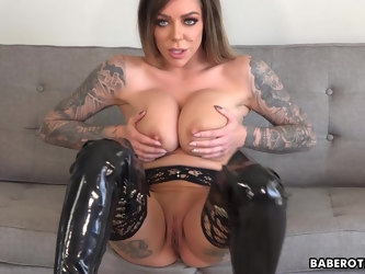 Solo JOI expert, Karma RX is teasing from home