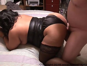 Awesome Anal Big Butt Mature Mexican BBW MILF