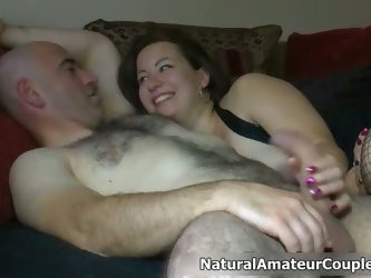 Thick British girl with big tits gets