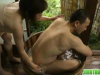 Sexy Japanese mature lady gets screwed by her lover