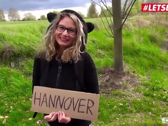 LETSDOEIT - Busty Hitchhiker Milf Izzy Mendosa Pays With Pussy For Her Travel To Hannover