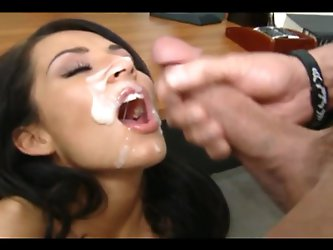 A Compilation of My Favorite Facial Cumshots (Part 2)