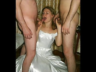 Here cums the bride#2