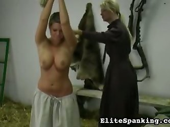 Whipping the Farm Girl