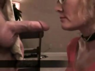 Wife sucks it sallow it and fucked