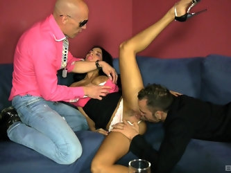 Anissa Kate jump starts her music career by fucking her producers